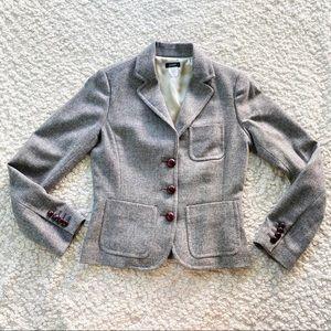 J. Crew x Robert Noble Scottish Wool Blazer Gray 2